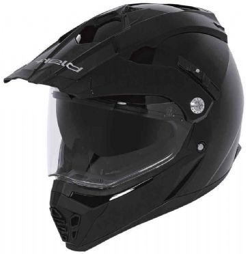 Held Alcatar Enduro Motorcycle Motorbike Helmet - Gloss Black - Large